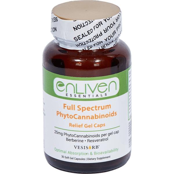 Relief Gel Capsules - Enliven Essentials