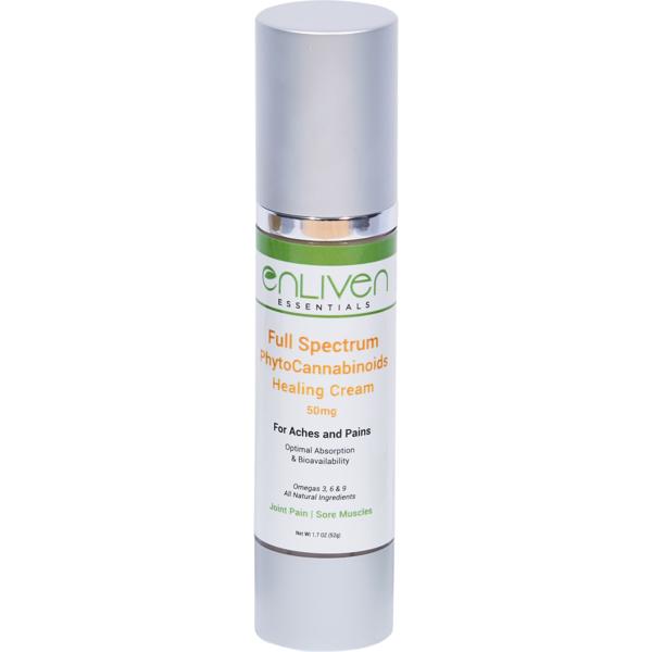 CBD Healing Cream - Enliven Essentials